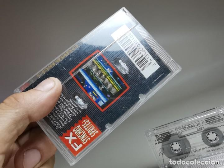 Videojuegos y Consolas: JUEGO ORIGINAL MSX-MSX2 ---COMANDO TRACER - Foto 10 - 282210753