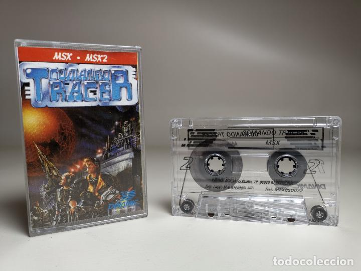 JUEGO ORIGINAL MSX-MSX2 ---COMANDO TRACER (Juguetes - Videojuegos y Consolas - Msx)