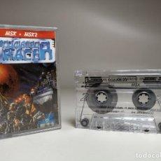 Videojuegos y Consolas: JUEGO ORIGINAL MSX-MSX2 ---COMANDO TRACER. Lote 282210753