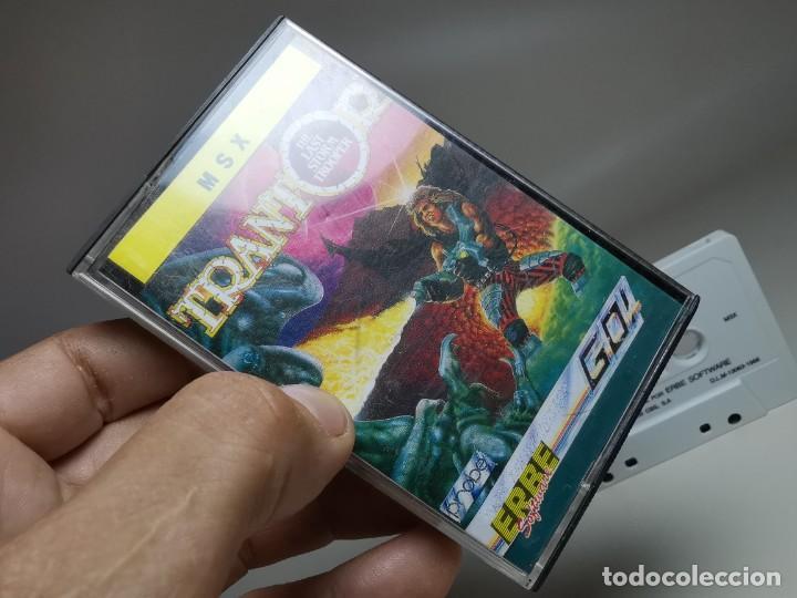 Videojuegos y Consolas: JUEGO ORIGINAL MSX-MSX2 ---TRANTOR - Foto 4 - 282211008