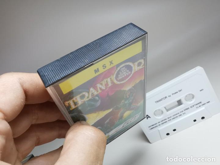 Videojuegos y Consolas: JUEGO ORIGINAL MSX-MSX2 ---TRANTOR - Foto 5 - 282211008