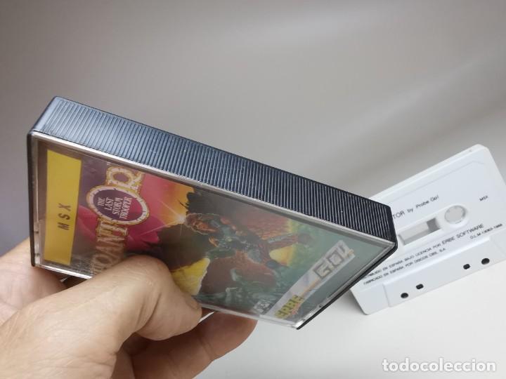 Videojuegos y Consolas: JUEGO ORIGINAL MSX-MSX2 ---TRANTOR - Foto 6 - 282211008