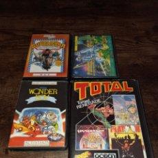 Videojuegos y Consolas: LOTE DE JUEGOS DE MSX Y AMSTRAD *WONDER BOY FUTURE KNIGHT TOTAL TARGET RENEGADE SUPERSTAR CHALLENGE*. Lote 286260528