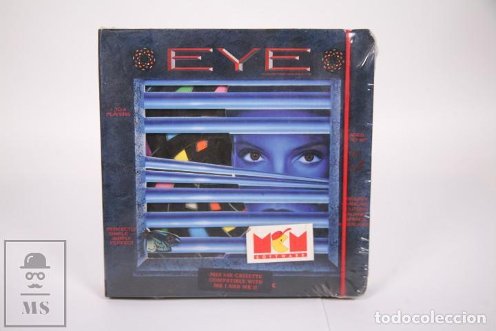 VIDEOJUEGO RETRO CASETE MSX 64K - EYE - MCM SOFTWARE - CAJA GRANDE PRECINTADA FÁBRICA - CASSETTE (Juguetes - Videojuegos y Consolas - Msx)