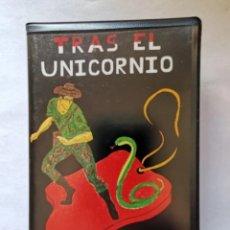 Videojuegos y Consolas: TRAS EL UNICORNIO MSX EN ESTUCHE AZIMUT SOFT DIFÍCIL RARO. Lote 287482293