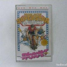 Videojuegos y Consolas: SUPERSTAR CHALLENGE - BRIAN JACKS / MSX / RETRO VINTAGE / CASSETTE. Lote 288373373