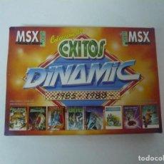 Videojuegos y Consolas: COLECCIÓN DE ÉXITOS DINAMIC / MSX / RETRO VINTAGE / CASSETTE. Lote 288373783