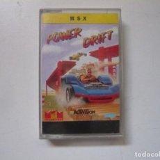 Videojuegos y Consolas: POWER DRIFT / MSX / RETRO VINTAGE / CASSETTE. Lote 288376873