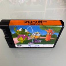 Videojuegos y Consolas: MSX - KONAMI FROGGER - CARTUCHO ROM ORIGINAL RC 704. Lote 288490228