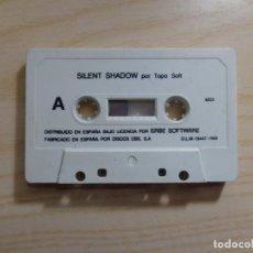 Videojuegos y Consolas: JUEGO 'SILENT SHADOW' MSX. Lote 288586723