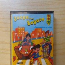 Videojuegos y Consolas: JUEGO 'JUEGA SEGURO' MSX. Lote 288587008