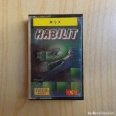 Videojuegos y Consolas: JUEGO 'HABILIT' MSX. Lote 288587028