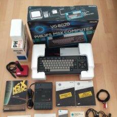 Videojuegos y Consolas: ORDENADOR MSX PHILIPS VG 8020 COMPLETO + REPRODUCTOR CASSETTE NMS 1520 MUY BUEN ESTADO. Lote 288876888