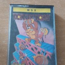 Videojuegos y Consolas: DONKEY KONG MSX OCEAN. Lote 289268493