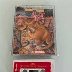 Videojuegos y Consolas: MSX - MOT (OPERA SOFT) - CAJA XL / CARGA VERIFICADA. Lote 289317648