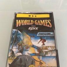 Videojuegos y Consolas: MSX - WORLD GAMES (EPYX). Lote 289322638
