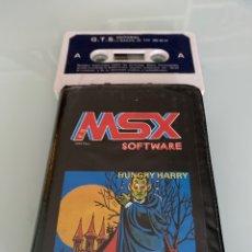 Videojuegos y Consolas: MSX - HUNGRY HARRY - G.T.S. (GRUPO TRABAJO SOFTWARE) - EDICIÓN EN ESTUCHE [MSX SOFTWARE N. 16]. Lote 289329403
