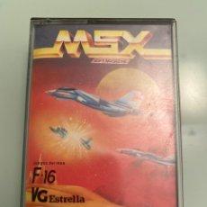 Videojuegos y Consolas: MSX - F-16 / VG-ESTRELLA (MONSER) [MSX SOFT MAGAZINE N.10]. Lote 289350103