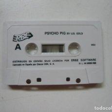 Videojuegos y Consolas: PSYCHO PIG + TITANIC - SOLO CINTA / MSX / RETRO VINTAGE / CASSETTE - CINTA. Lote 289560903