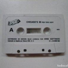 Videojuegos y Consolas: CHICAGO'S 30 + COLISEUM - SOLO CINTA / MSX / RETRO VINTAGE / CASSETTE - CINTA. Lote 289560958