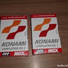 Videojuegos y Consolas: CARTUCHOS MSX MSX2 35 JUEGOS KONAMI COMPILATION VOL.1 FROGGER , PIPPOL'S , MAGICAL TREE , ETC NUEVOS. Lote 289708728