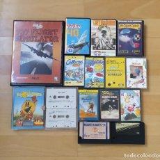 Videojuegos y Consolas: LOTE JUEGOS ORDENADOR MSX EN FORMATO CARTUCHO Y CASSETTE BUEN ESTADO PACMANIA BOUNDER MOLECULE. Lote 289777838