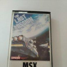 Videojuegos y Consolas: THE LAST MISSION MSX. Lote 290054643