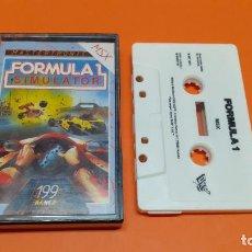 Videojuegos y Consolas: VIDEOJUEGO MSX CASSETTE CASETE ESP - FORMULA 1 SIMULATOR. Lote 290095113