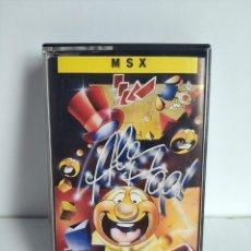 Videojuegos y Consolas: ANTIGUO JUEGO PARA MSX - ALE HOP! DE TOPO SOFT AÑO 1988. Lote 290525628