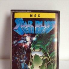 Videojuegos y Consolas: ANTIGUO JUEGO MSX - STAR DUST DE TOPO SOFT - AÑO 1987. Lote 290525938