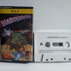 Videojuegos y Consolas: JUEGO VIDEOJUEGO PARA MSX - BLASTEROIDS. Lote 290560373