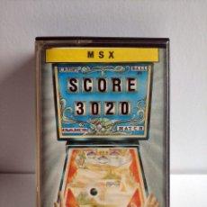 Videojuegos y Consolas: JUEGO VIDEOJUEGO PARA MSX - SCORE 3020 - TOPO SOFT. Lote 290561173