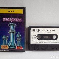 Videojuegos y Consolas: JUEGO VIDEOJUEGO PARA MSX - MEGACHESS - IBER SOFTWARE. Lote 290561838
