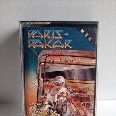 Videojuegos y Consolas: JUEGO VIDEOJUEGO PARA MSX - PARIS DAKAR - ZIGURAT. Lote 290563808