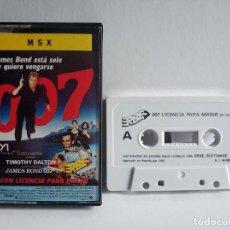 Videojuegos y Consolas: JUEGO VIDEOJUEGO PARA MSX - JAMES BOND 007 - ERBE. Lote 290565183