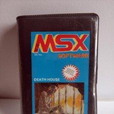 Videojuegos y Consolas: JUEGO VIDEOJUEGO PARA MSX - MSX SOFTWARE NUMERO 20 - DEATH HOUSE. Lote 290569153