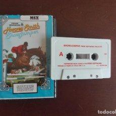 Videojuegos y Consolas: CASSETTE / CASETE VIDEOJUEGO MSX - HARVEY SMITH - SHOWJUMPER- CBS / ERBE SOFTWARE. Lote 293425658