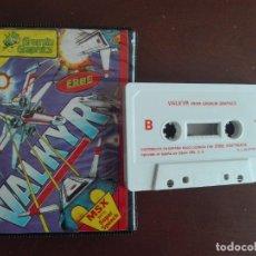 Videojuegos y Consolas: CASSETTE / CASETE VIDEOJUEGO MSX - VALKYR- CBS / ERBE SOFTWARE. Lote 293425878