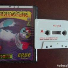 Videojuegos y Consolas: CASSETTE / CASETE VIDEOJUEGO MSX - MAP GAME - MAPGAME - CBS / ERBE SOFTWARE. Lote 293426108