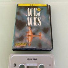 Videojuegos y Consolas: MSX - ACE OF ACES (EDICIÓN ESTUCHE) - US GOLD / ERBE SOFTWARE. Lote 293590833