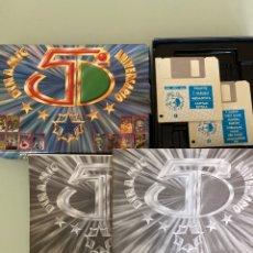 Videojuegos y Consolas: MSX - DINAMIC 5 ANIVERSARIO / VERSIÓN DISCO / COMPLETO !!. Lote 293620313