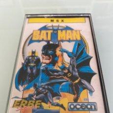 Videojuegos y Consolas: MSX - BAT MAN (OCEAN / ERBE SOFTWARE) - CARGA VERIFICADA. Lote 293724278