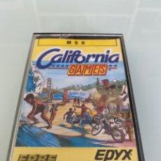 Videojuegos y Consolas: MSX - CALIFORNIA GAMES (EPYX). Lote 293725563