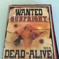 Videojuegos y Consolas: MSX - GUNFRIGHT (EDICIÓN ESTUCHE) - ULTIMATE. Lote 293731028