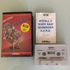 Videojuegos y Consolas: MSX - H.E.R.O. ACTIVISION (1RA EDICIÓN) HERO. Lote 293733798