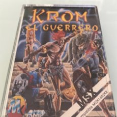 Videojuegos y Consolas: MSX - KROM EL GUERRERO INVENCIBLE (OMK SOFTWARE). Lote 293737093