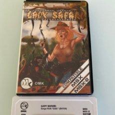 Videojuegos y Consolas: MSX - LADY SAFARI (OMK SOFTWARE) EDICIÓN DISCOVERY INFORMATIC. Lote 293738063