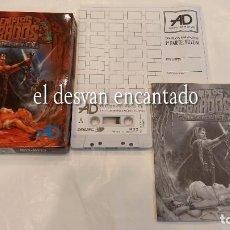 Videojogos e Consolas: LOS TEMPLOS SAGRADOS. CI-U-THAN TRILOGY-II. ANTIGUO JURGO MSX-MSX2. Lote 294012413