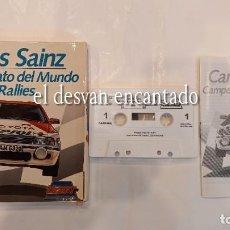Videojogos e Consolas: CARLOS SAINZ. CAMPEONATO DEL MUNDO DE RALLIES. ANTIGUO JUEGO MSX. Lote 294013103
