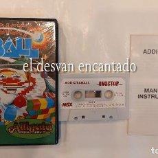 Videojogos e Consolas: ADDICTA BALL. ANTIGUO JUEGO MSX. Lote 294013268